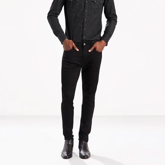 016e31784ea Levi's 512 Black Slim Taper Stretch Jeans 32. M_5b60ed03d365becc227b59f2